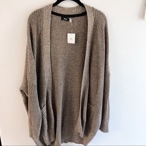 BDG tan cardigan